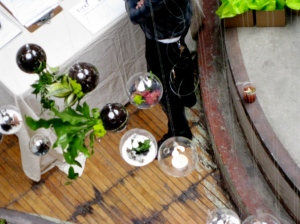Floating Terrariums at Thread