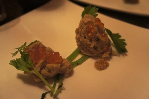Aerated Pretzel/ Ikura/ Celery/ Mustard Seed