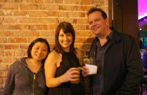 Me, Lindsay (Dishcrawlsd) and Downtown Rob