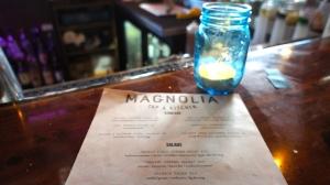Magnolia Menu