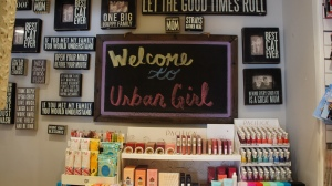 Urban Girl Accessories has all the cool things for your home and to accessorize the  hip stylish gal. I totally wanted everything.